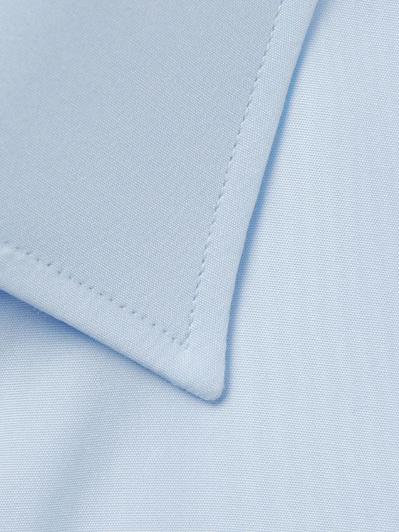 TURNBULL & ASSER Blue Cotton Shirt