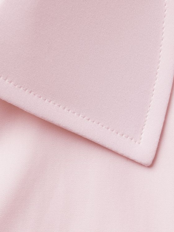 Turnbull & Asser Pink Double-Cuff Cotton Shirt