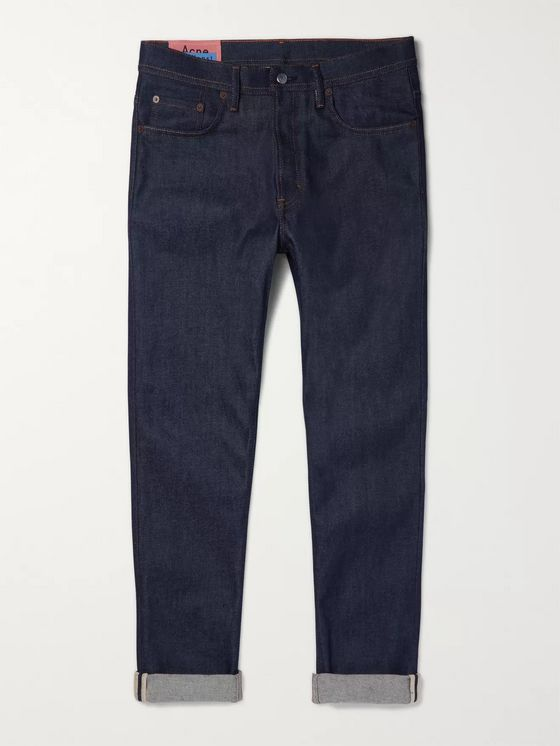 Acne Studios Tapered Stretch-Denim Jeans