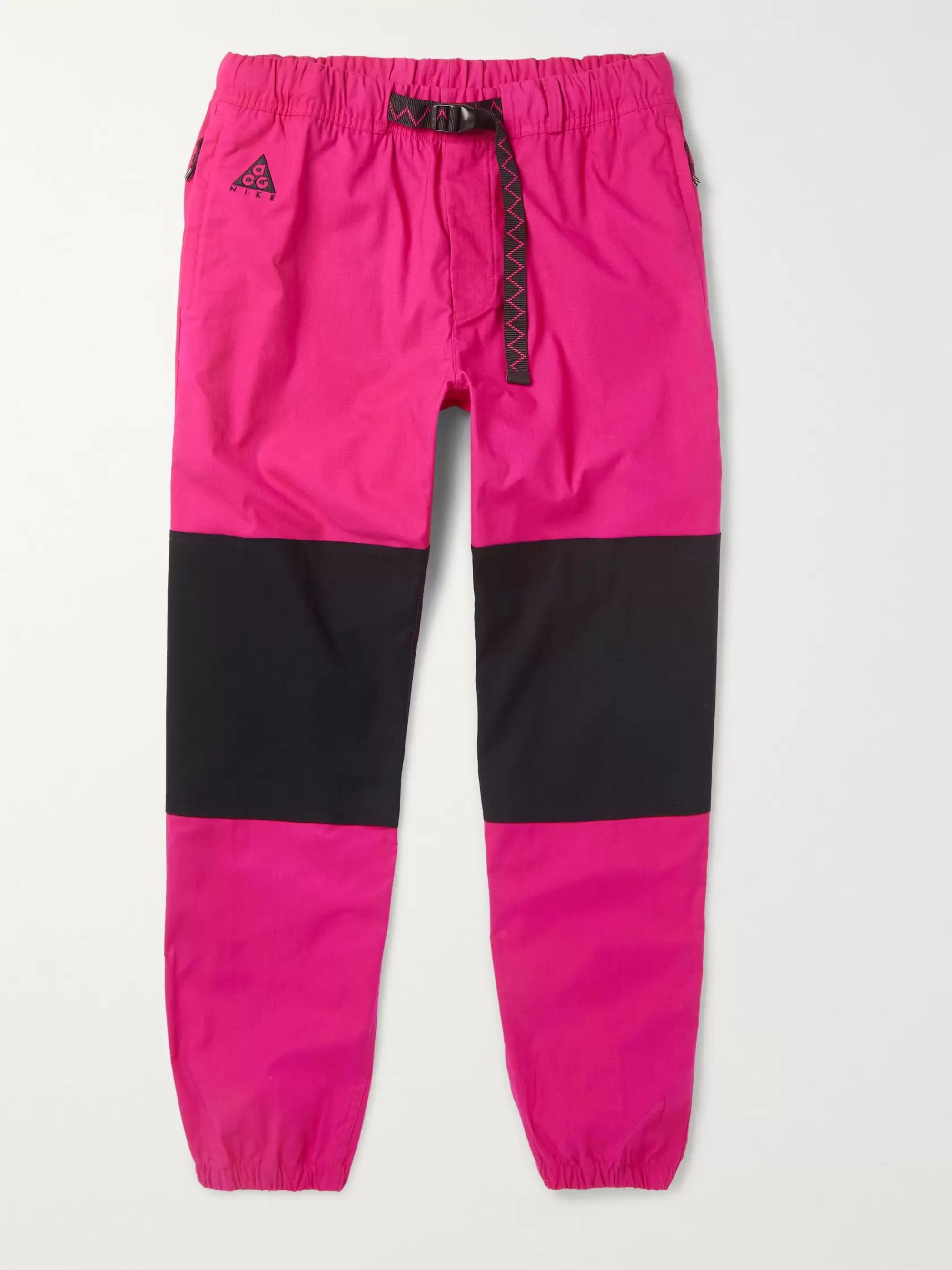 nike pants pink