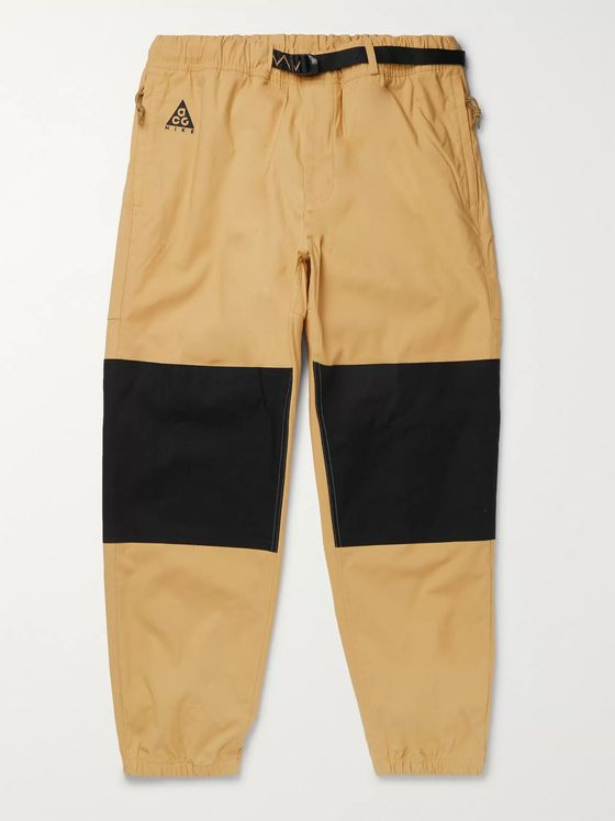 Nike ACG Trail Tapered Panelled Ripstop Trousers