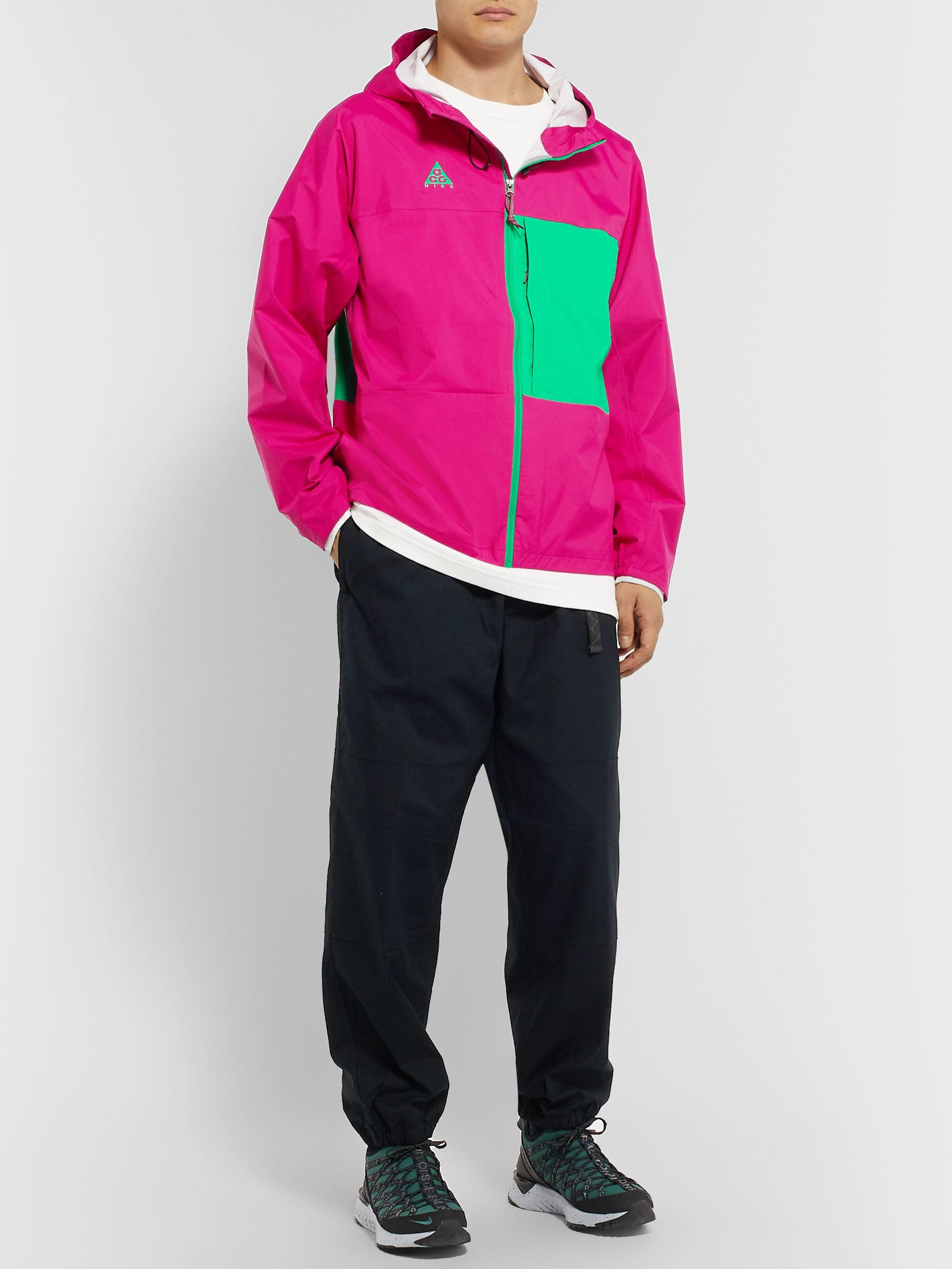 Nike ACG NRG Packable Colour-Block Shell Hooded Jacket