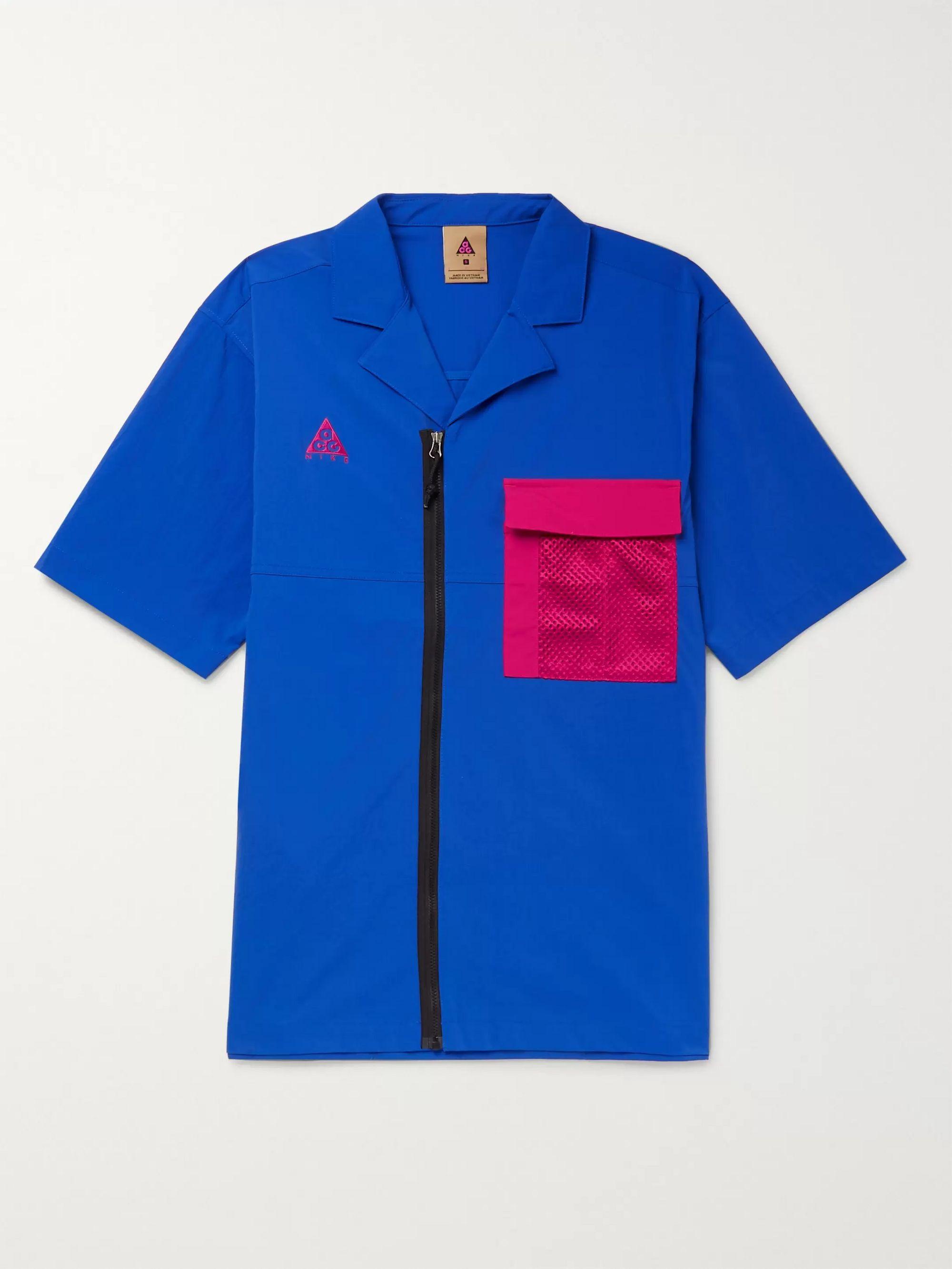 nike shirt with collar