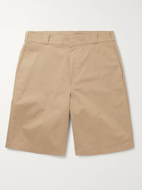 Prada Cotton-Blend Gabardine Shorts