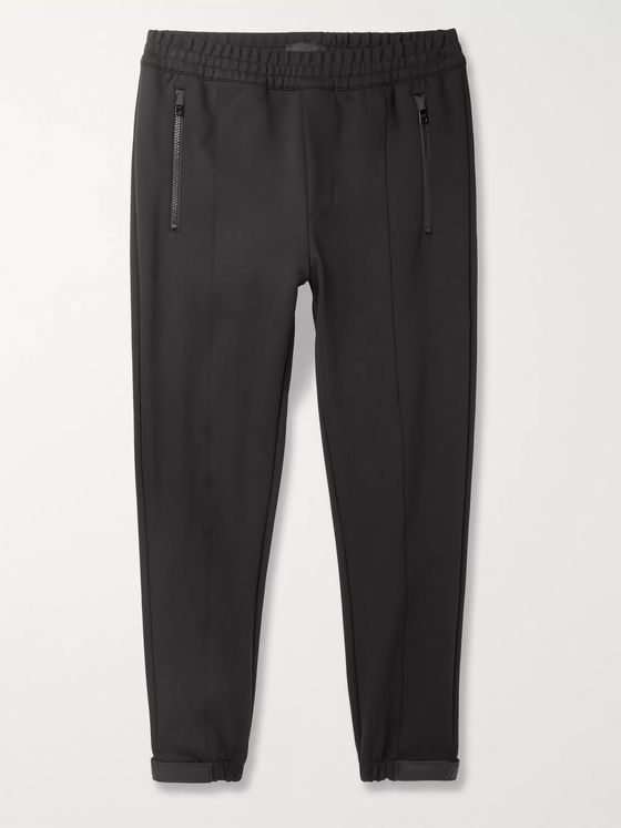 Prada Slim-Fit Tapered Satin-Trimmed Tech-Nylon Track Pants