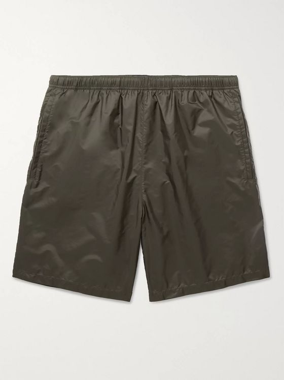 PRADA Puma Mid-Length Appliquéd Shell Swim Shorts