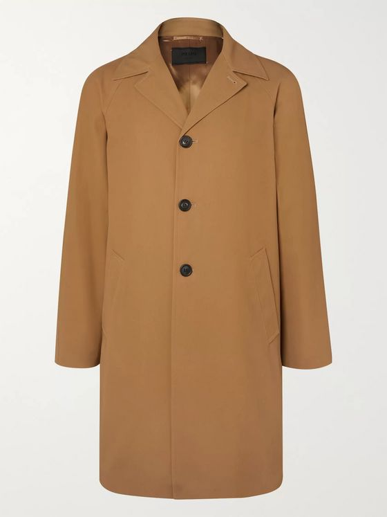 Prada Cotton-Twill Coat