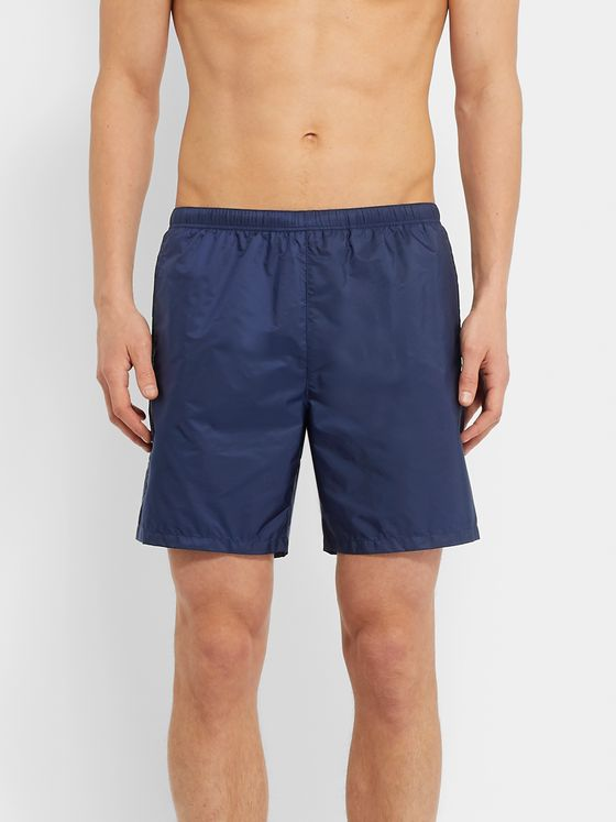 Prada Puma Slim-Fit Mid-Length Swim Shorts