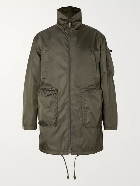 Prada Oversized Nylon Jacket