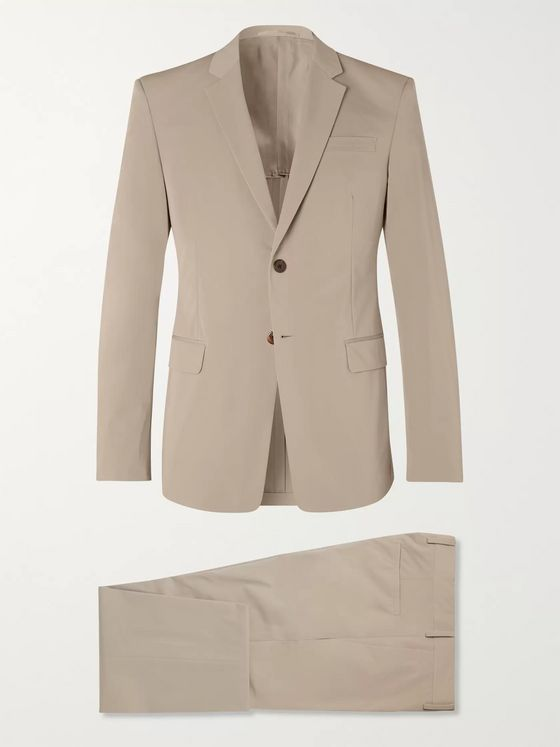 Prada Beige Slim-Fit Shell Suit
