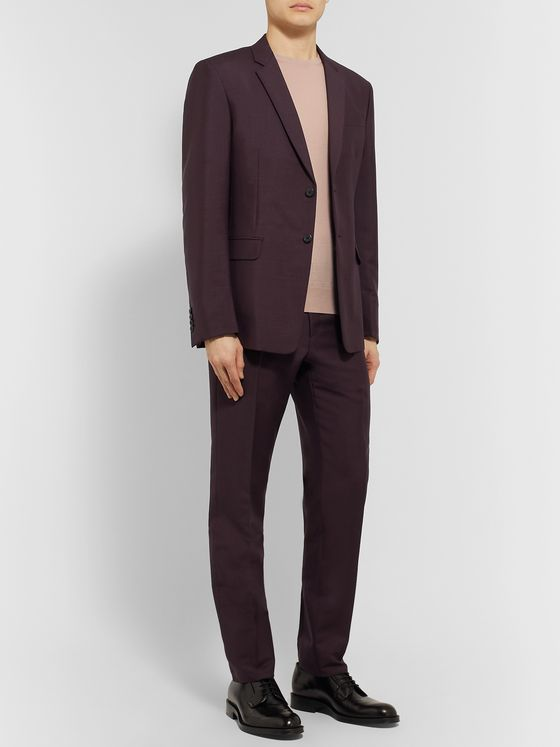PRADA Slim-Fit Mohair and Wool-Blend Suit
