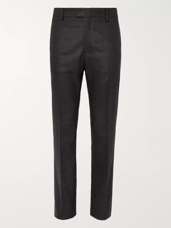 BOTTEGA VENETA Cashmere-Blend Flannel Trousers
