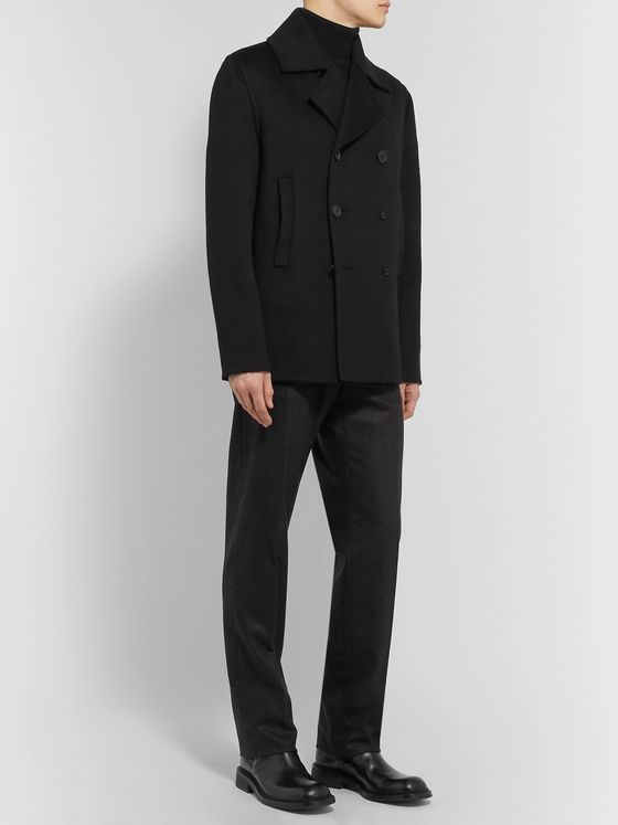 Bottega Veneta Wool Peacoat