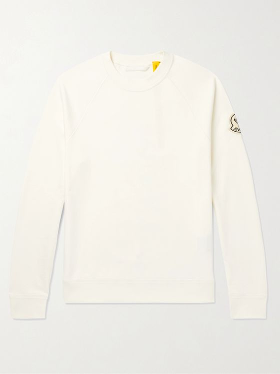 Moncler Genius + Awake NY 2 Moncler 1952 Logo-Detailed Loopback Cotton-Jersey Sweatshirt