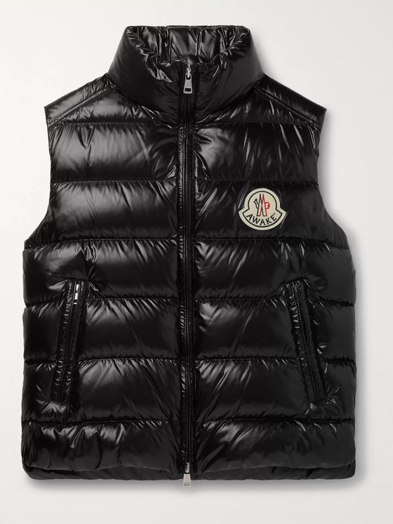 Moncler Genius + Awake NY 2 Moncler 1952 Parker Printed Quilted Nylon Down Gilet