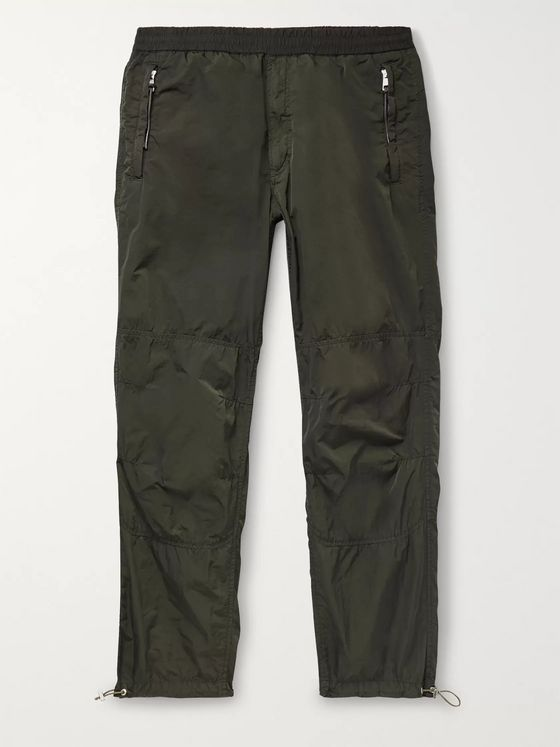 Moncler Genius 2 Moncler 1952 Slim-Fit Garment-Dyed Nylon Track Pants