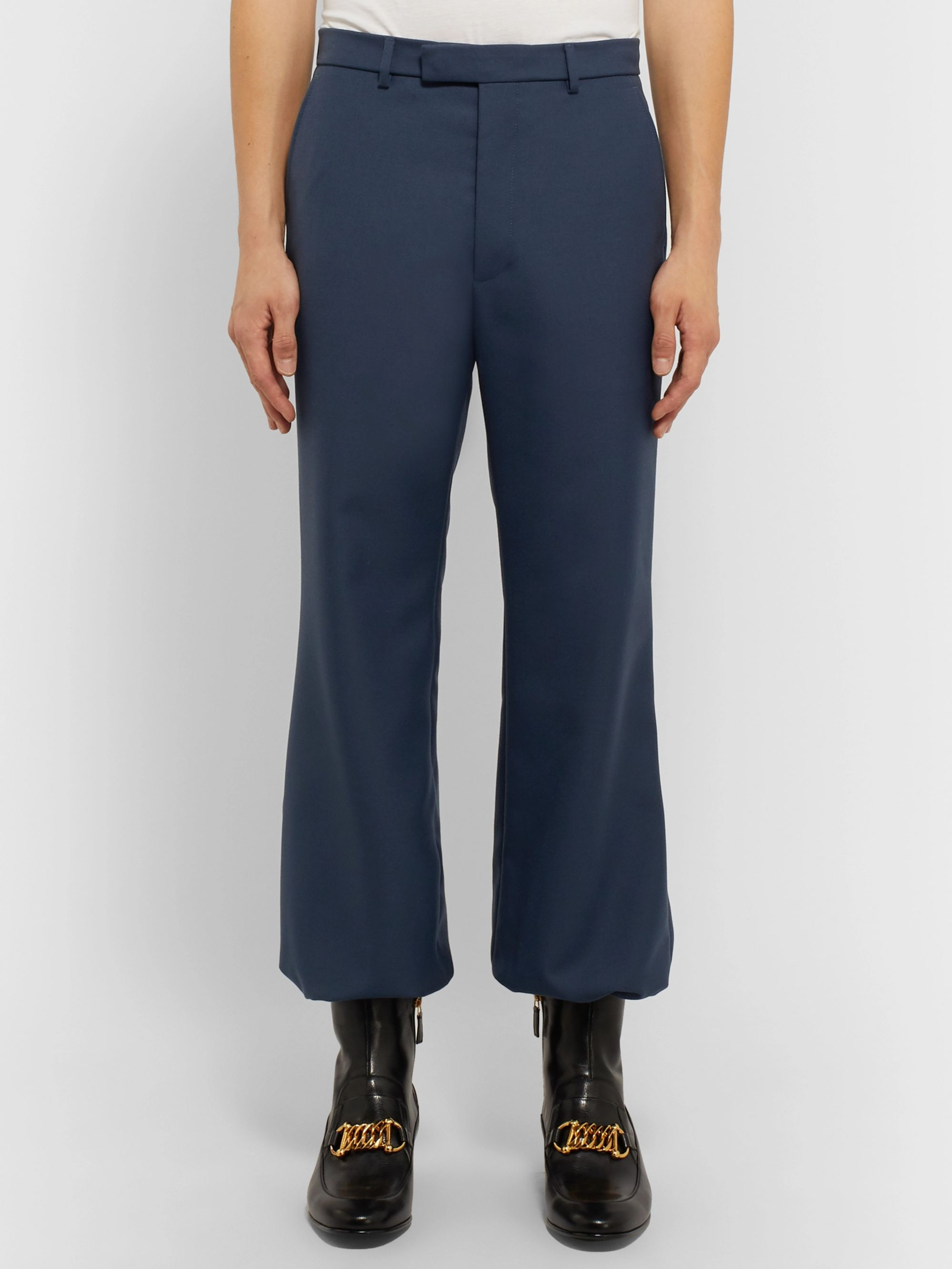 Gucci Tapered Drill Trousers