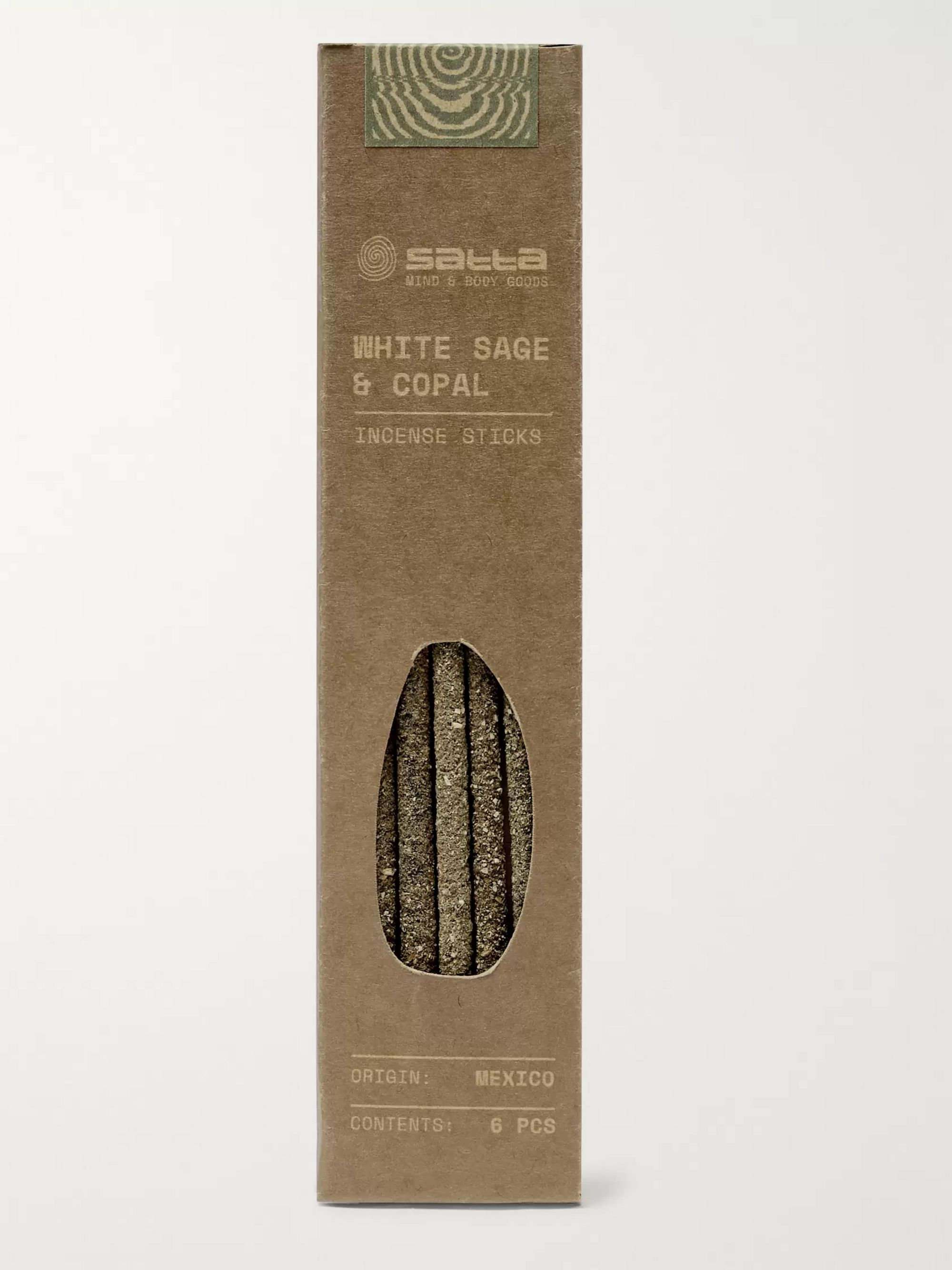 Satta White Sage and Copal Incense Sticks