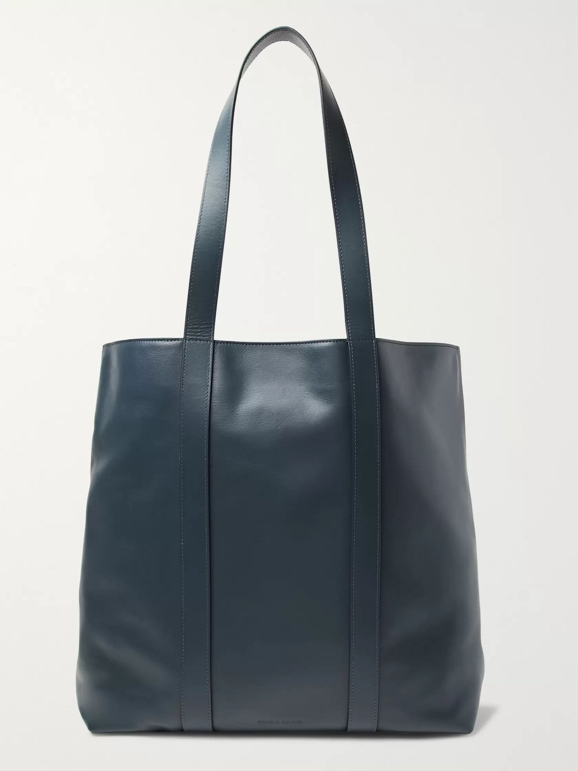Mansur Gavriel North South Leather Tote Bag