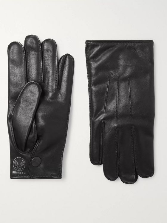 RRL Cashmere-Lined Leather Gloves