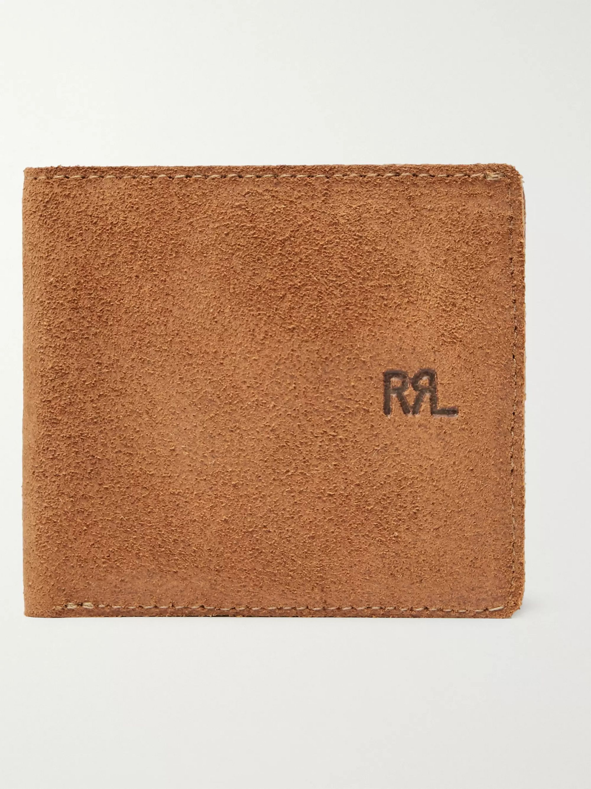 Ranch Suede Billfold Wallet by Rrl