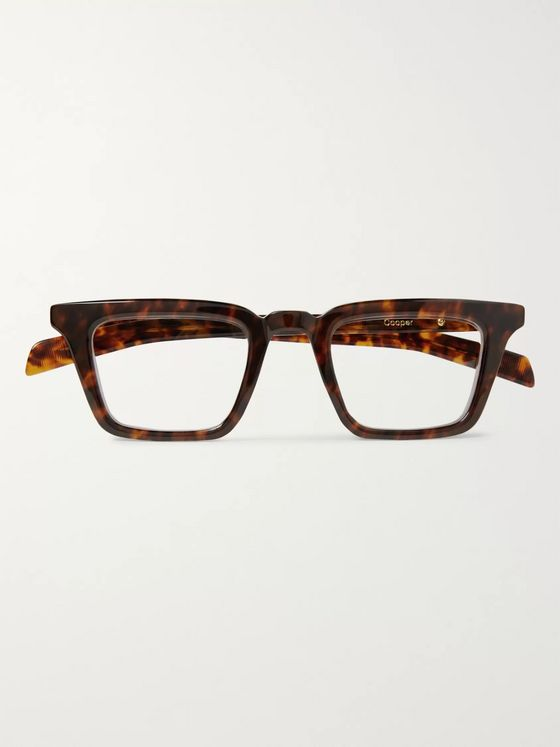 Native Sons Cooper Square-Frame Tortoiseshell Acetate Optical Glasses
