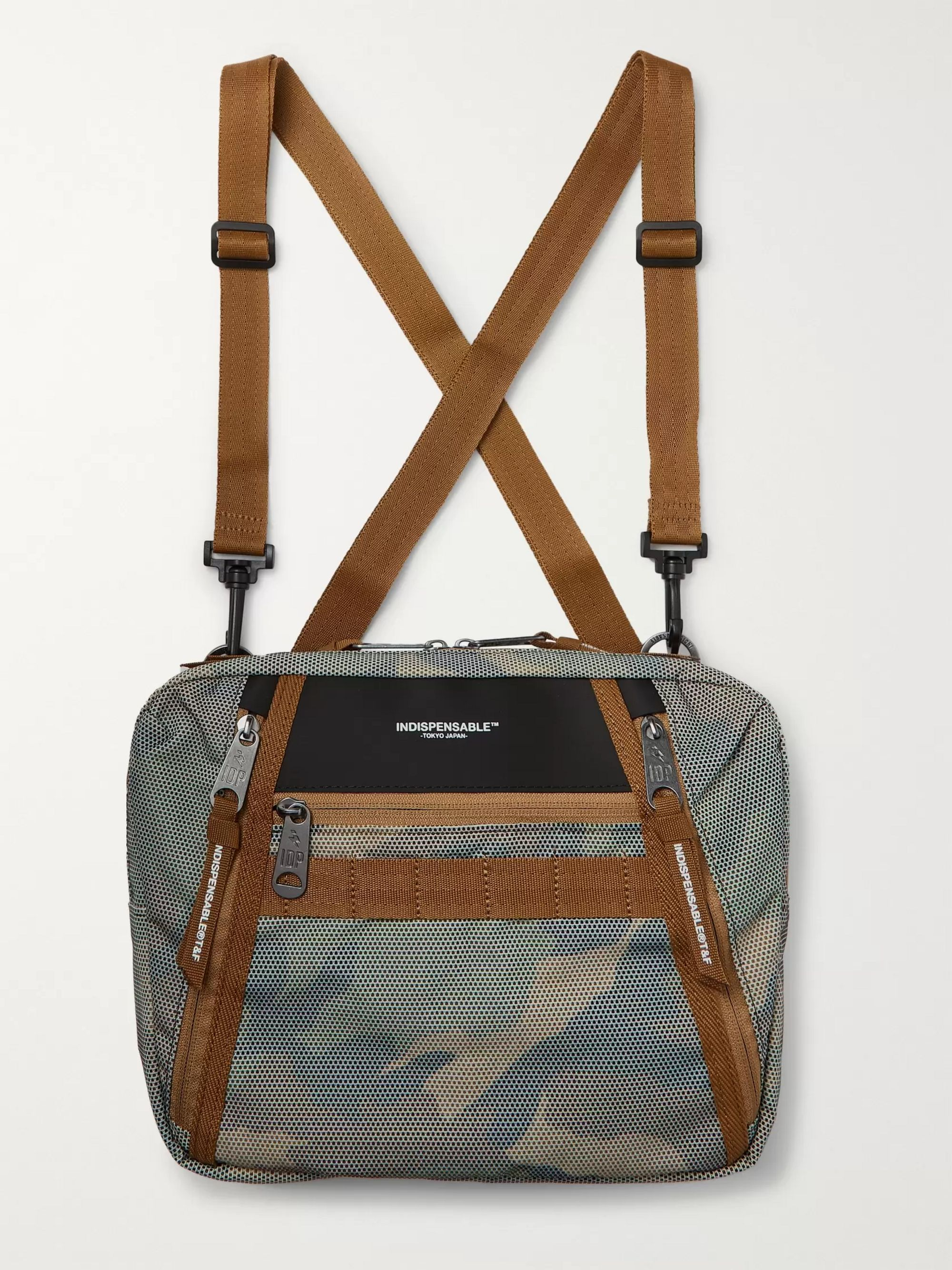 Indispensable Padpit Camouflage-Print Shell Harness Bag