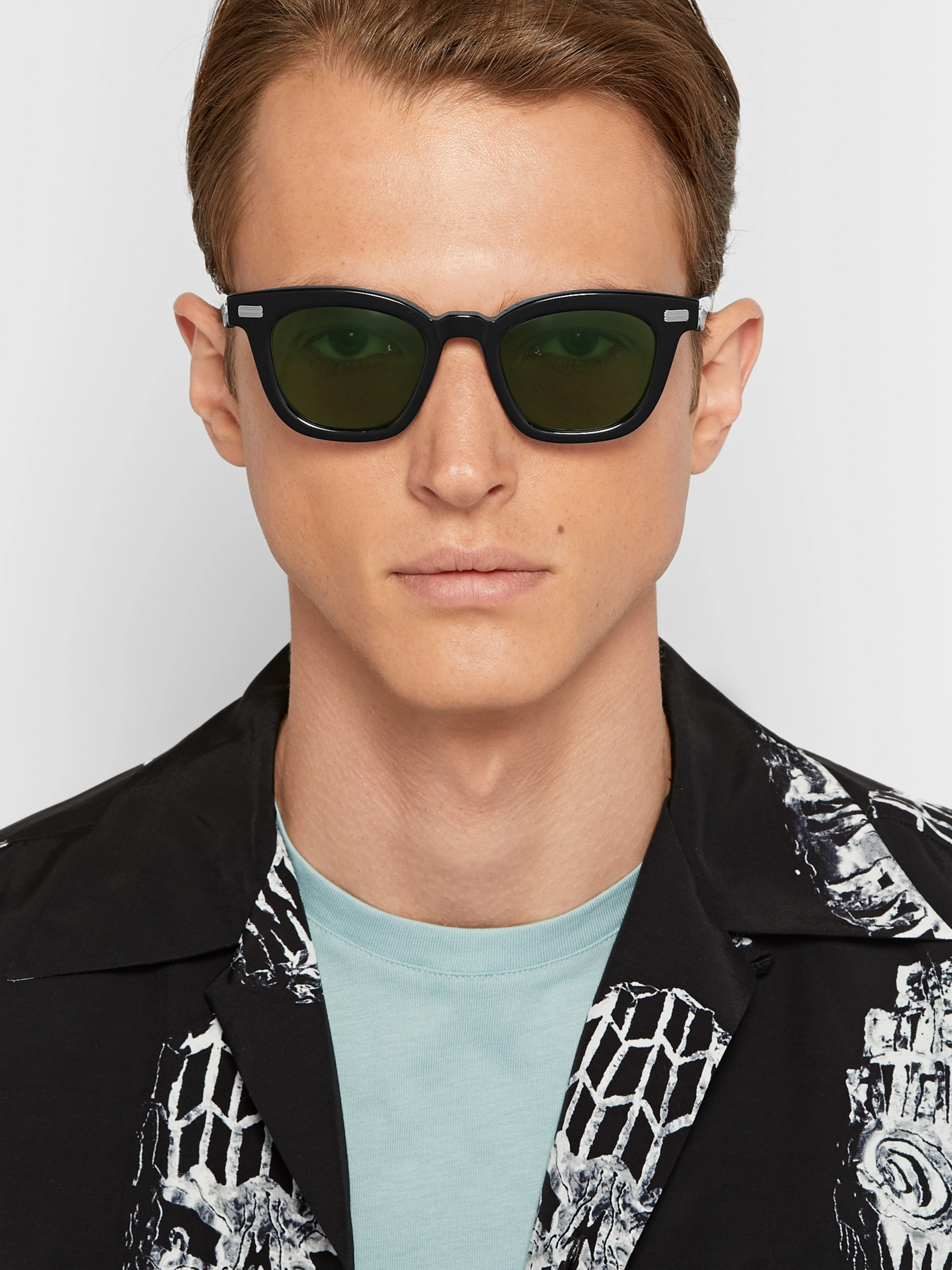 Native Sons Kowalski D-Frame Acetate Sunglasses