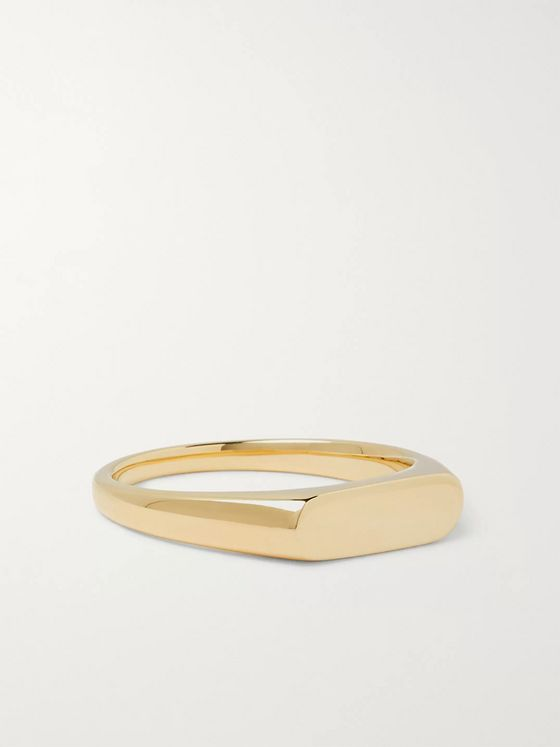 Tom Wood Knut 9-Karat Gold Ring