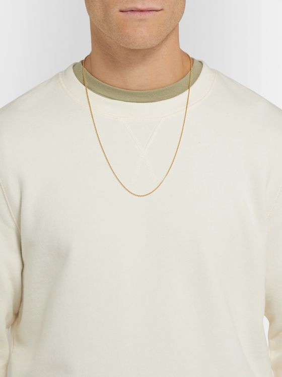 Tom Wood Rolo Gold-Plated Necklace