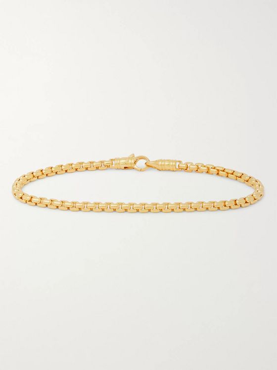 Tom Wood Venetian Gold-Plated Bracelet
