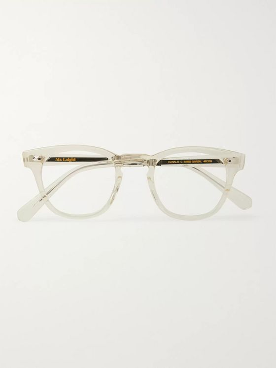 Mr Leight Hanalei C D-Frame Acetate and Titanium Sunglasses
