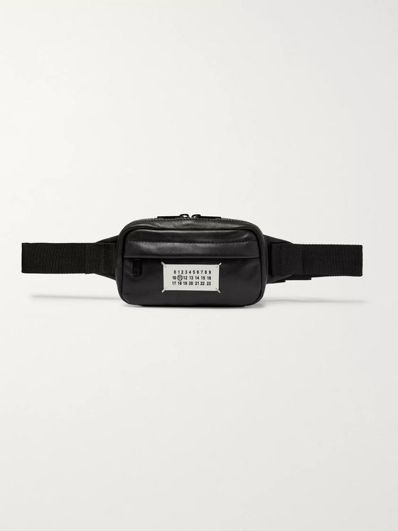 Maison Margiela Appliquéd Leather Belt Bag