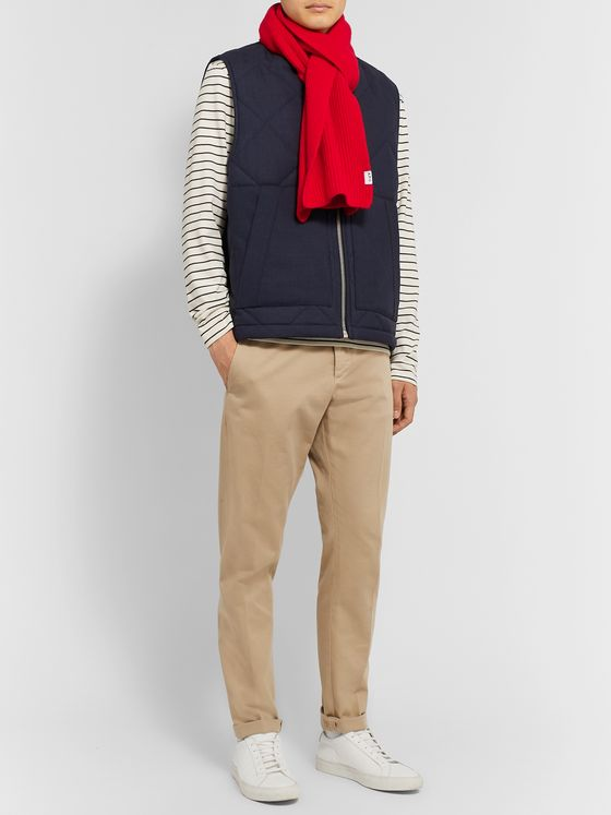A.P.C. Ribbed Wool Scarf