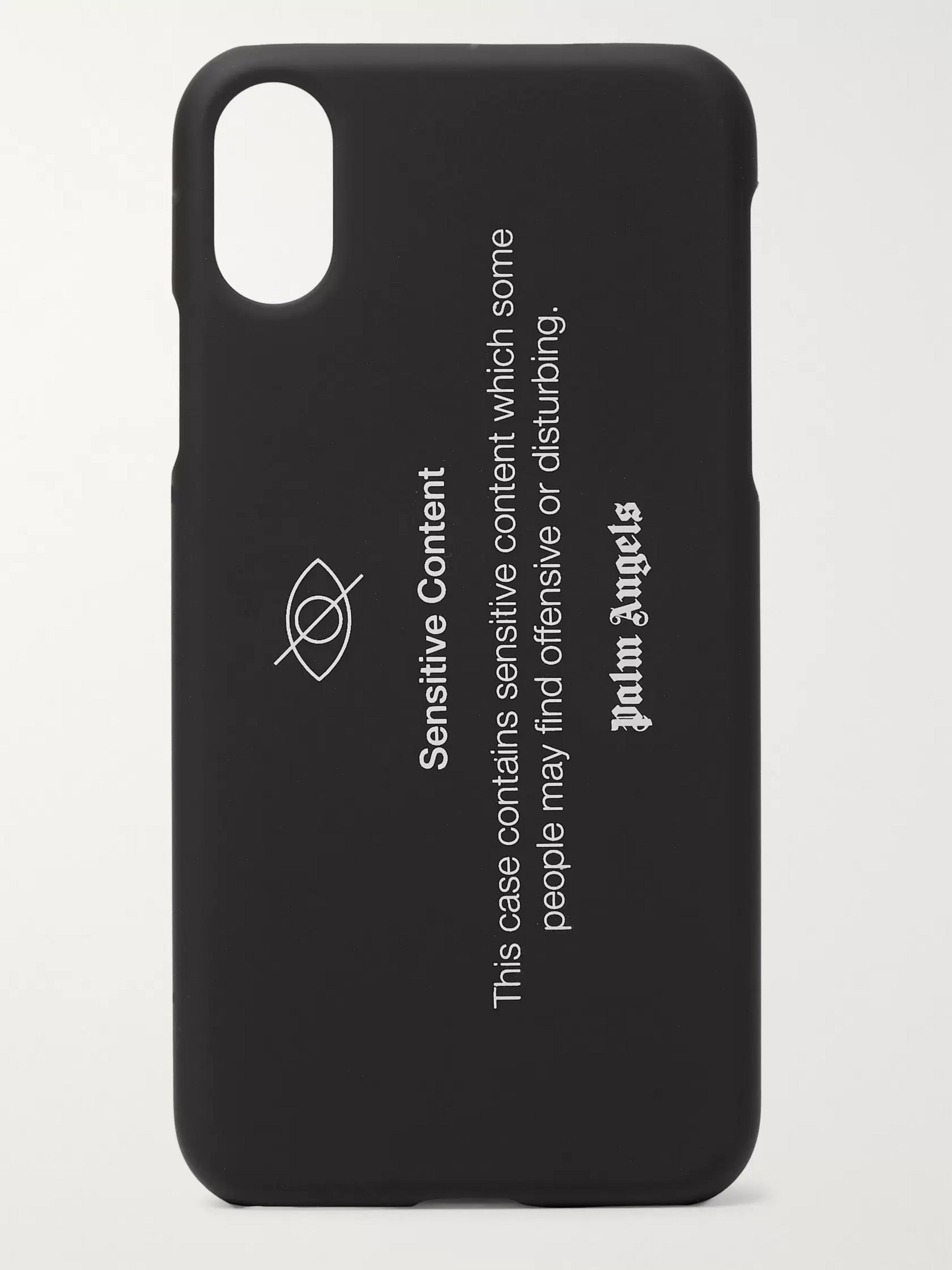 Palm Angels Printed iPhone X Case