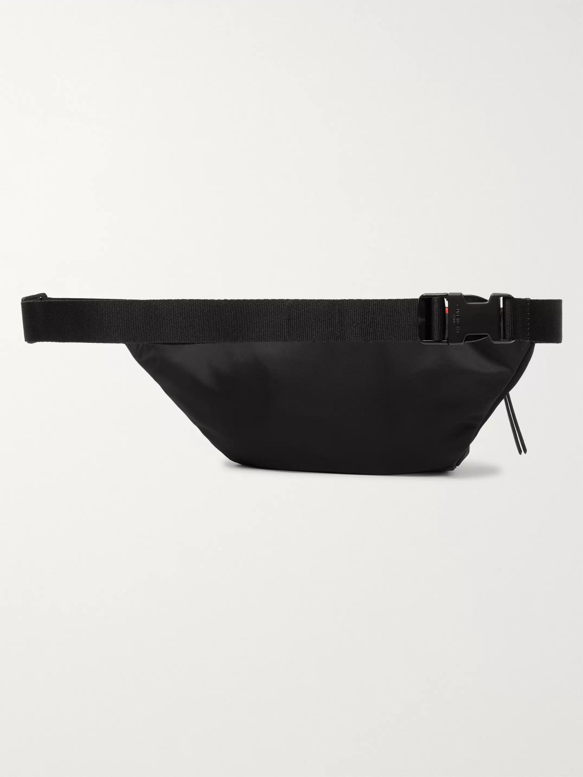 Givenchy Logo Webbing-Trimmed Colour-Block Shell Belt Bag
