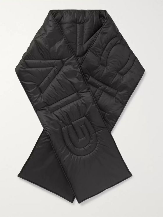 Givenchy Logo-Detailed Quilted Shell Scarf