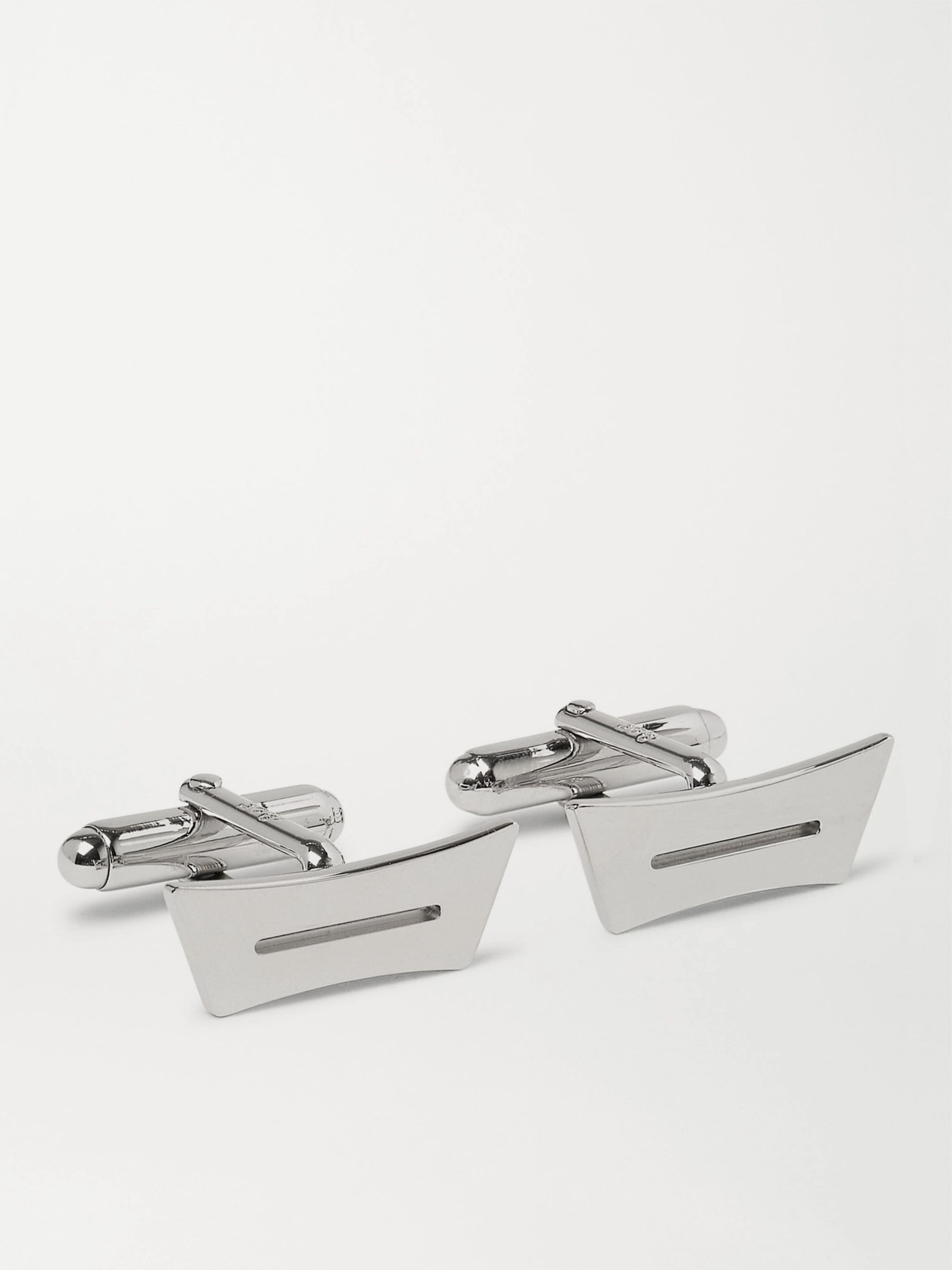 Berluti Andy Palladium-Plated Cufflinks