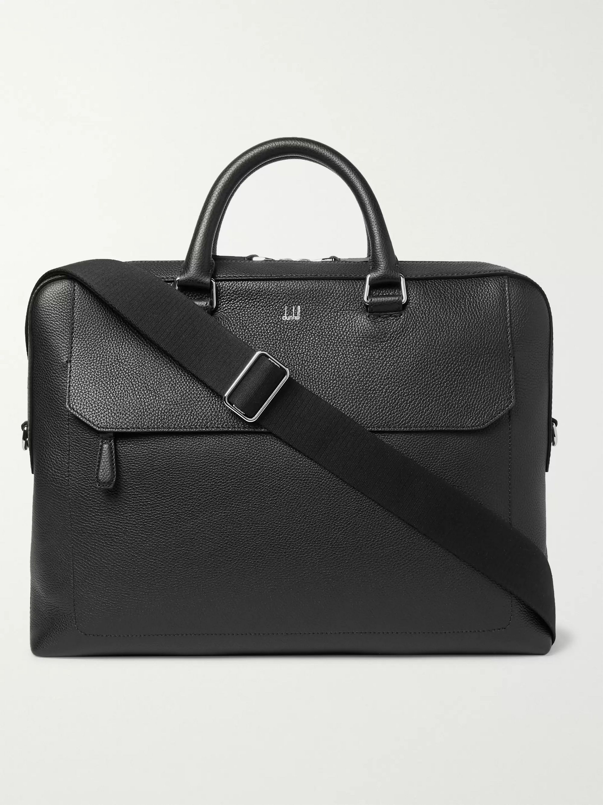 Dunhill Pebble-Grain Leather Briefcase