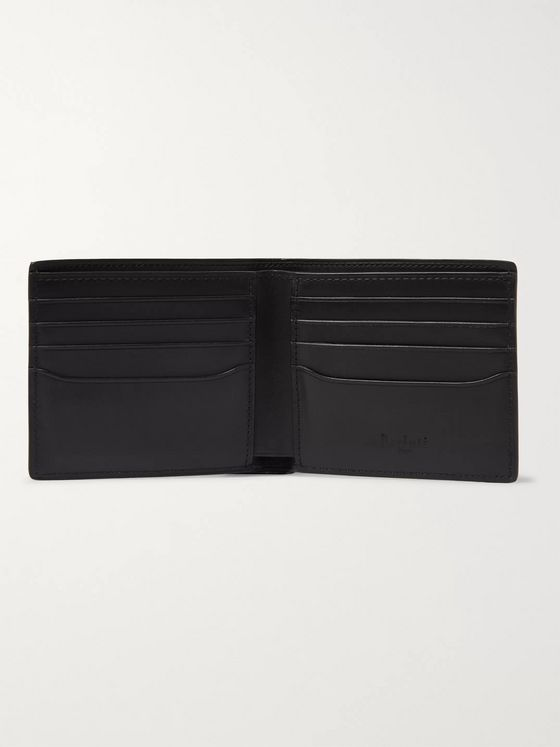 Berluti Makore Scritto Leather Billfold Wallet