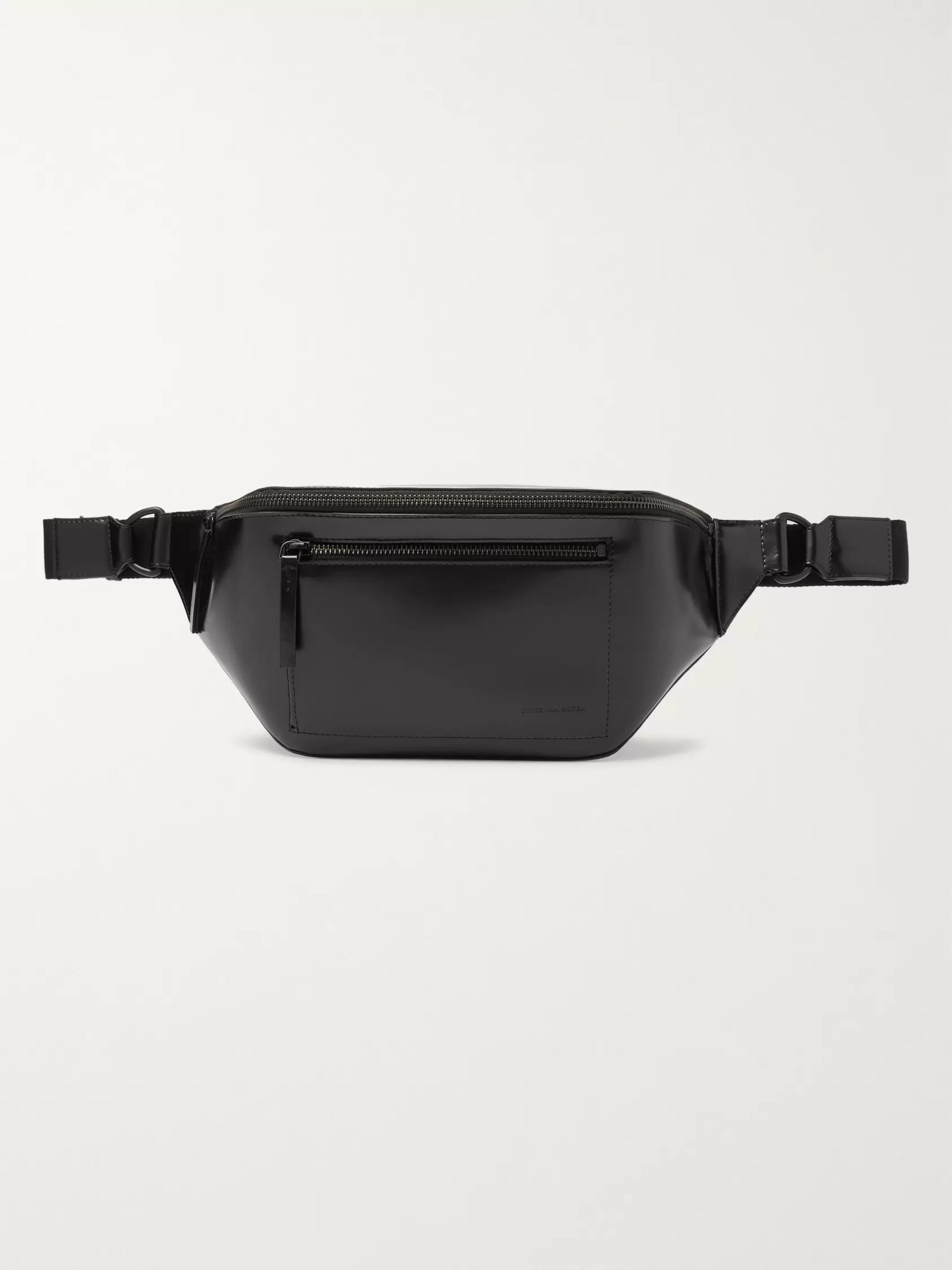 Dries Van Noten Leather Belt Bag
