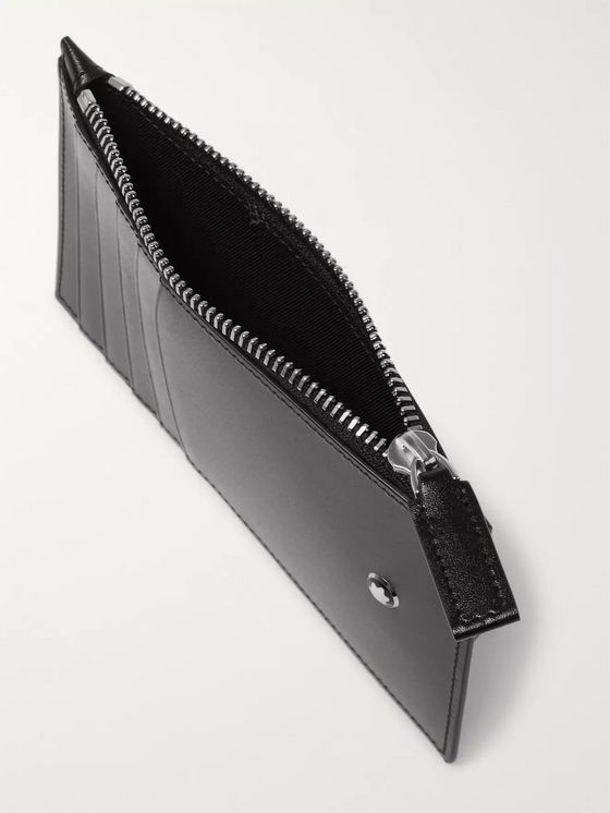 Montblanc Meisterstück Leather Zipped Cardholder