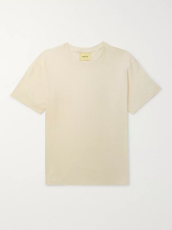 De Bonne Facture Oversized Cotton-Jersey T-shirt
