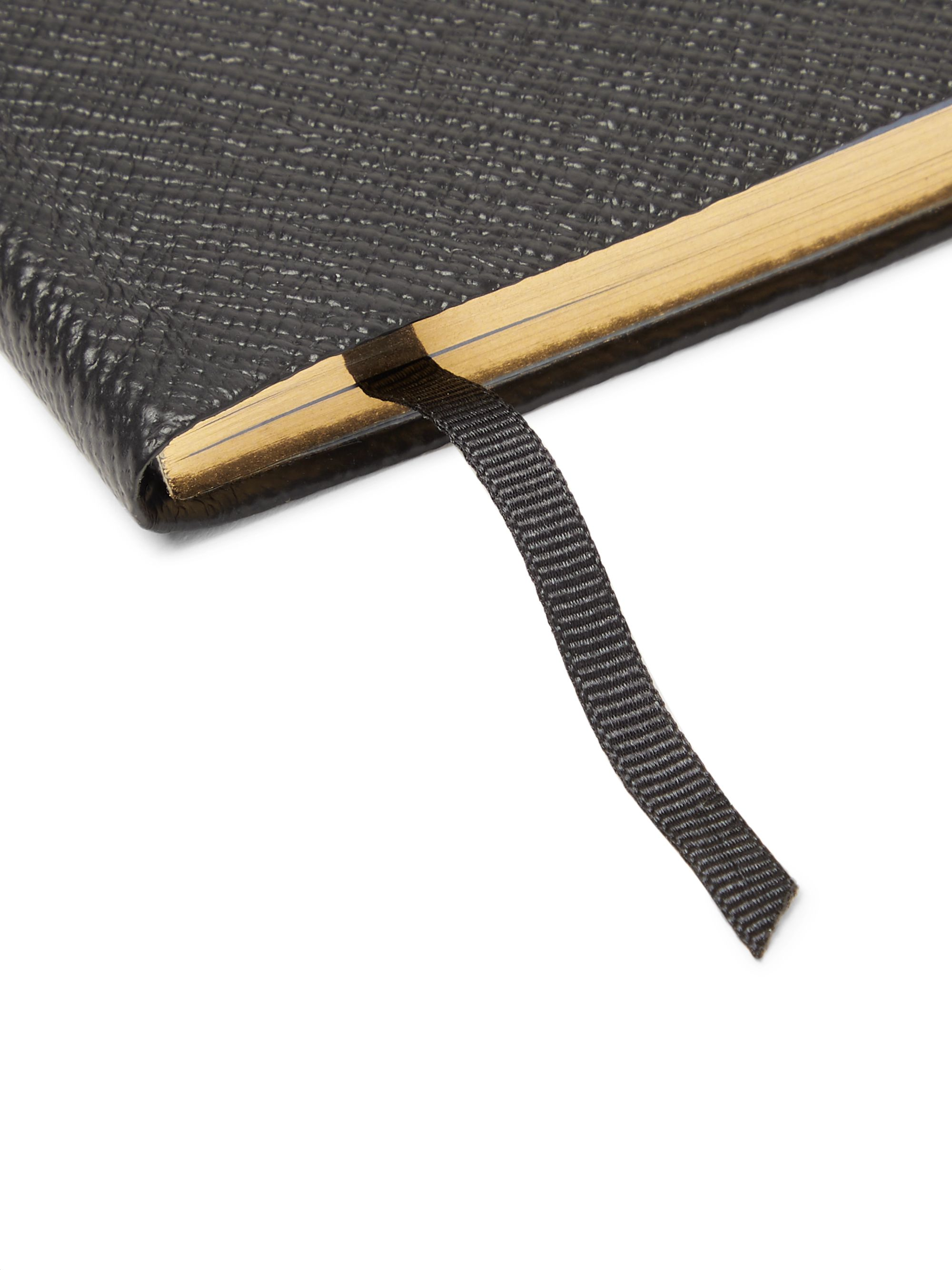 Smythson Panama Travels and Experiences Cross-Grain Leather Notebook