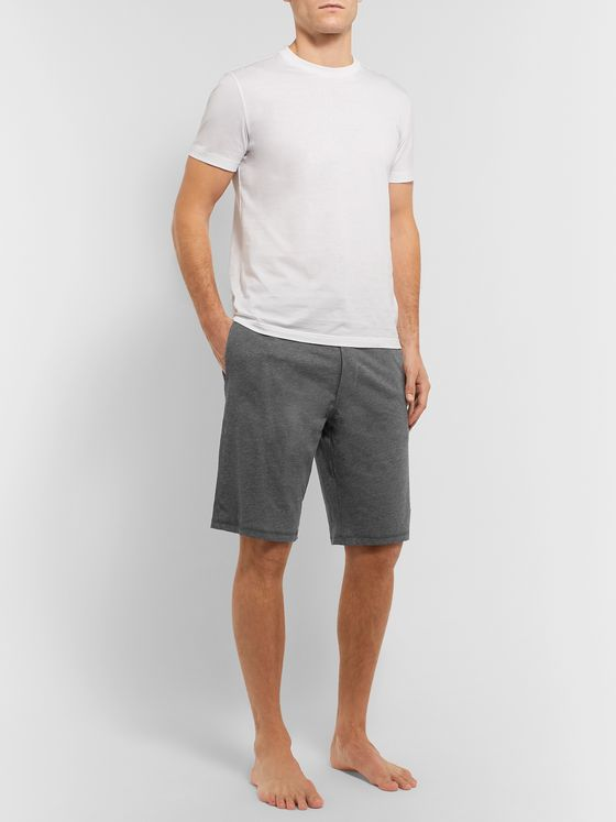 Paul Smith Mélange Cotton-Jersey Pyjama Shorts