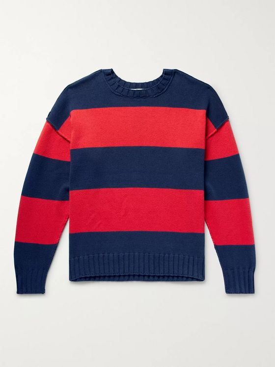 Entireworld Striped Recycled Cotton Sweater